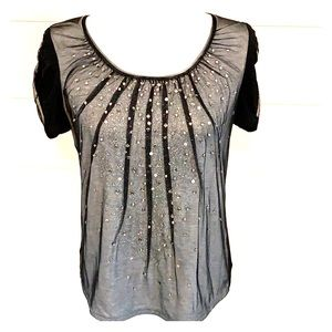 👚WHBM👚T-SHIRT with embellishments